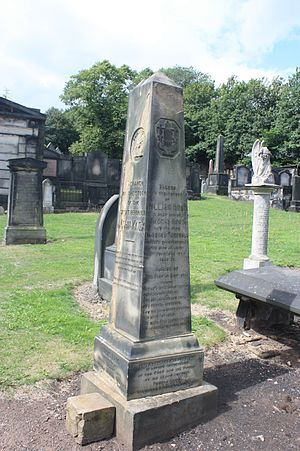 William Knox (Scottish poet) - William Knox's Cemetery, New Calton Cemetery