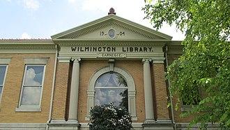 Wilmington Public Library - Image: Wilmington Ohio Library 2