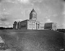 Manitoba Legislative Building - Wikipedia Hermes Statue
