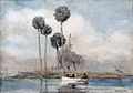 Winslow Homer - The White Rowboat, St. Johns River (1890).jpg