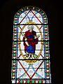 Wissous (91), église Saint-Denis, bas-côté, vitrail n° 12 - saint Pierre.jpg