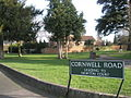 Wobbly sign in Cornwell Road - geograph.org.uk - 670671.jpg