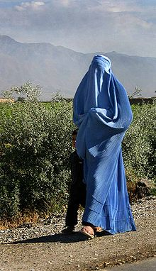 Woman walking in Afghanistan.jpg