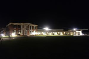 Woodneath - Woodneath Library Center at Night