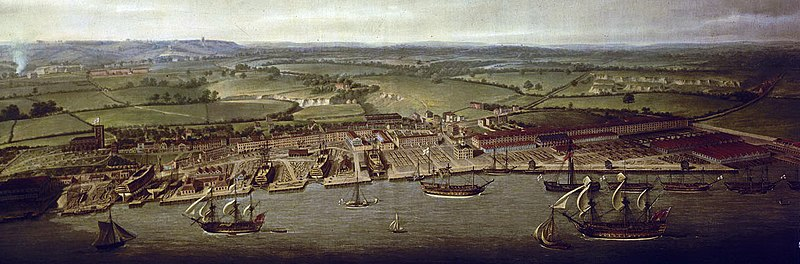 Painting of the Dockyard