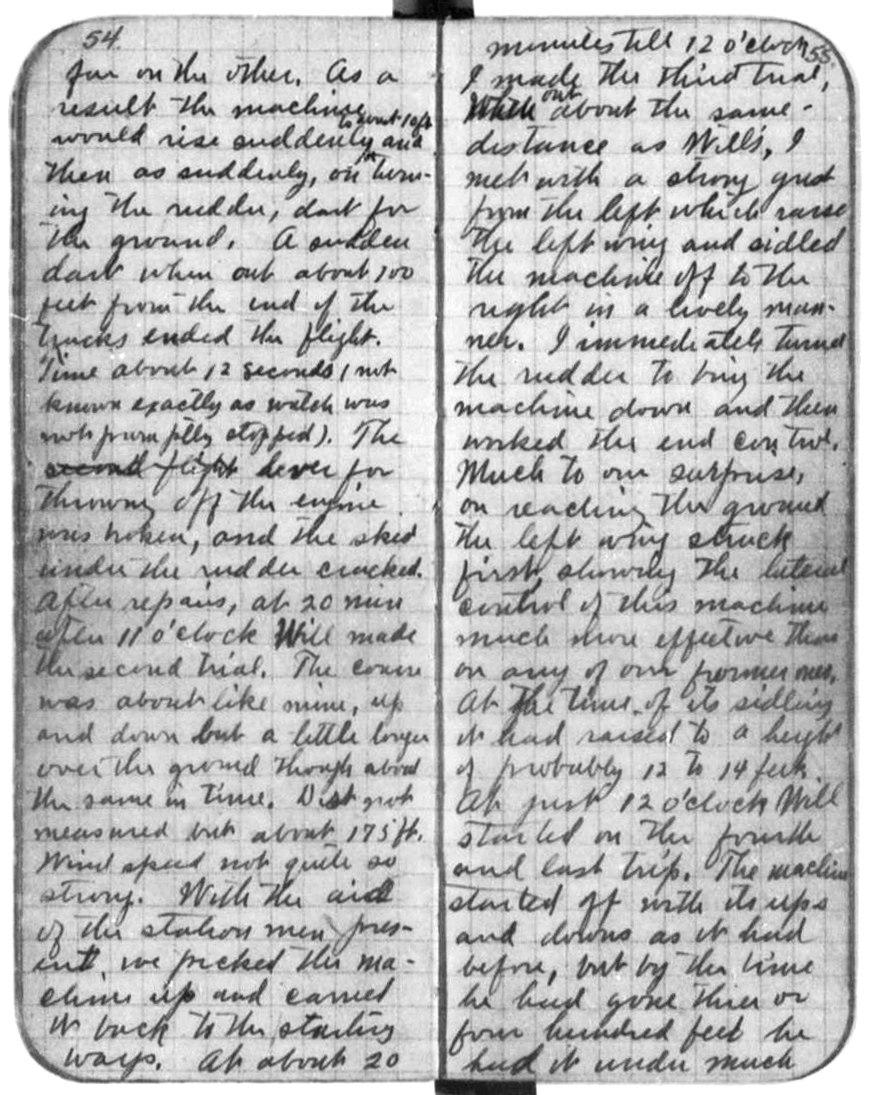 Wright diary1