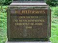 Wuppertal - Barmer Anlagen - Friedrich Emil Rittershaus-Denkmal 05 ies.jpg