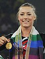 XIX Commonwealth Games-2010 Delhi Winners of Women's Gymnastics Vault progress, Cairns Imogen of England (Gold).jpg