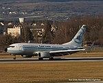 YR-BGG Boeing B737-78J B737 - ROT (16254218011).jpg