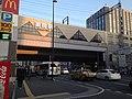 Yakuin Station (Nishitetsu) 20160115.JPG