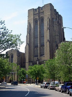 Payne Whitney Gymnasium - Image: Yale Cathedral of Sweat
