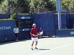 Wang en el US Open 2004