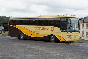 York Pullman - Van Hool bodied Scania K114IB coach