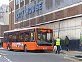 Yorkshire Tiger bus, Leeds City Station (30th May 2014).JPG