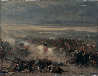 "Adolphe Yvon - ""The Battle of Eupatoria"""