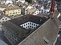 Zürich - Grossmünster - Sicht vom Grossmünster Karlsturm IMG 6398.JPG
