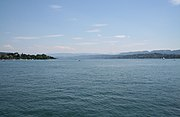 Zürichsee Südsicht