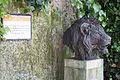 ZSL London - Lion's head sculpture (03).jpg