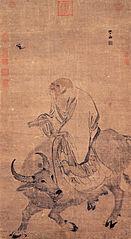 Lao-tzu Riding an Ox