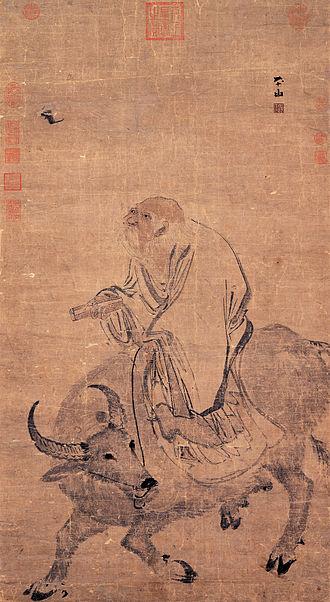 Laozi - Laozi by Zhang Lu; Ming dynasty (1368–1644)