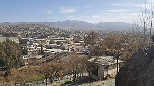 Zhob - A view of the city