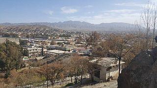 Zhob City in Balochistan, Pakistan