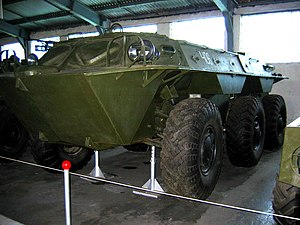 BTR-60 - ZiL-153 at the Kubinka Tank Museum.