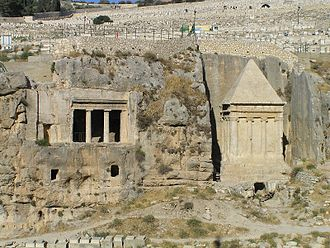 Rock-cut tombs in ancient Israel - The Tomb of Benei Hezir and the so-called Tomb of Zechariah
