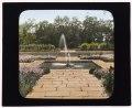 """Bartow Mansion,"" International Garden Club, 895 Shore Bay Road, Pelham Bay Park, Bronx, New York. Terrace fountain LCCN2008675738.tif"