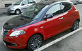 """ 12 - ITALY - Lancia Ypsilong bicolor ( black and red ) in Milan 06.jpg"