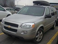 Minivan U (General Motors) - Wikipedia, la enciclopedia libre