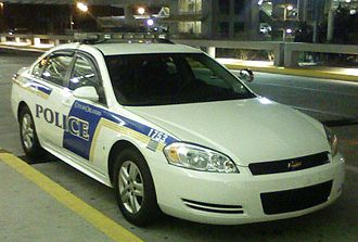 Orlando Police Department - A 2008 Chevrolet Impala police car from the Orlando International Airport.
