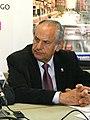 (Ángel Duque) Mediavilla y el alcalde de Camargo, Ángel Duque, durante la ponencia del primero.jpg
