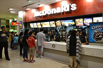 "One of the most well-known cross-selling sales scripts comes from McDonald's. ""Would you like fries with that?"" (1)Burwood McDonalds.jpg"
