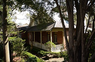 Normanhurst, New South Wales - Gilligaloola, family home of Norman Selfe, after which the suburb was named.