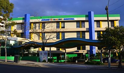How to get to Sydney Children's Hospital in Randwick by Bus or Train