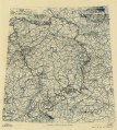 (April 24, 1945), HQ Twelfth Army Group situation map. LOC 2004631945.tif