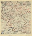 (July 13, 1945), HQ Twelfth Army Group situation map. LOC 2004629205.tif
