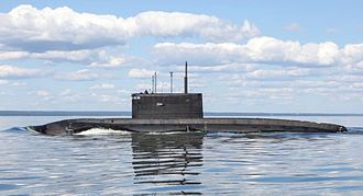 Cruise missile submarine - B-265 Krasnodar Russian Project 636.3 submarine