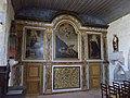 Église Notre-Dame-de-l'Assomption de Tamerville - Retable de la chapelle Saint-Sulpice.JPG