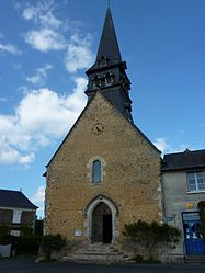 The church of Saint-Pierre, in Jupilles