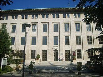 Turkish Radio and Television Corporation - TRT Radio Istanbul headquarters in Harbiye, Şişli, Istanbul
