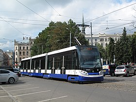 Image illustrative de l'article Tramway de Riga