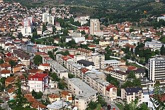 Štip - View of Štip