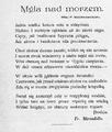 Życie. 1898, nr 18 (30 IV) page05 Mirandola.png