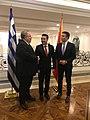 Επίσκεψη, Υπουργού Εξωτερικών, Ν. Κοτζιά στην πΓΔΜ – Συνάντηση ΥΠΕΞ, Ν. Κοτζιά, με Πρωθυπουργό της πΓΔΜ, Z. Zaev (23.03.2018) (39159766530).jpg