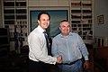 Συνάντηση ΑΝΥΠΕΞ κ. Δ. Δρούτσα με Αντιπρόεδρο της Αλβανικής Κυβέρνησης και ΥΠΕΞ κ. Ι. Μέτα (4859339011).jpg