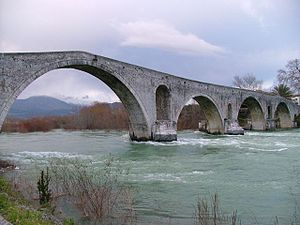 Arachthos (river) - The Arachthos in Arta