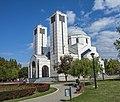 Град Ниш парк Св. Саве поглед на цркву.jpg