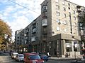 Житловий будинок з магазином — будинок, у якому жили Кошкін М.І. й Морозов О.О. - рад. конструктори танків, вул. Пушкінська, 54 (2).jpg
